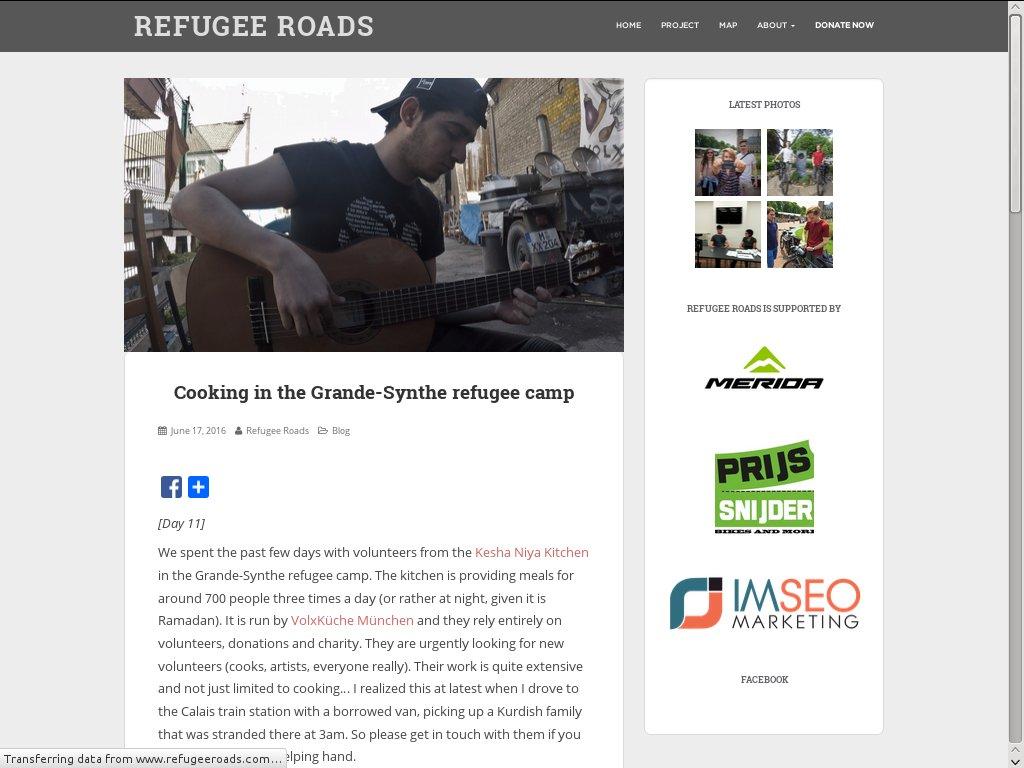 www.refugeeroads.com